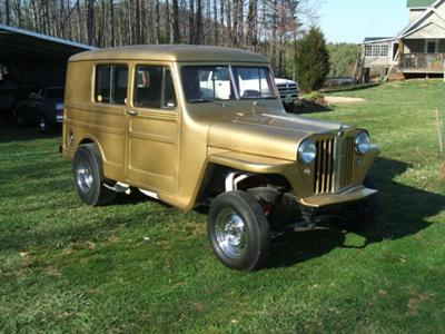 '49 Gasser Wagon