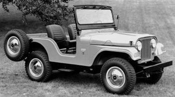 Stock Jeep CJ5 (File Photo)