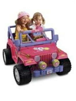 Barbie Jeep Girl!
