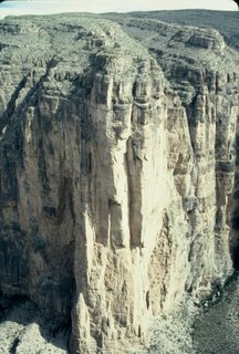 Big Bend National Park Mariscal Canyon Wall!