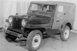 Jeep CJ4 Prototype!