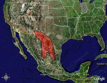 Chihuahuan Desert Map!