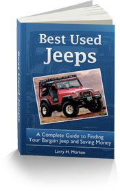 Ebook Cover Best Used Jeeps