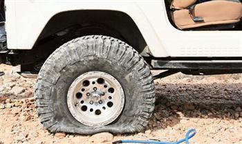 Jeep Essentials...Flat Tire!