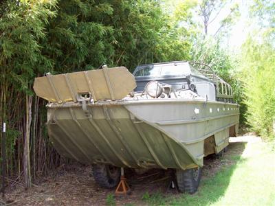 Pacific War Museum Duck Amphibious!