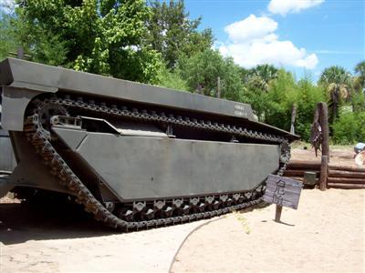 Pacific War Museum Tank!