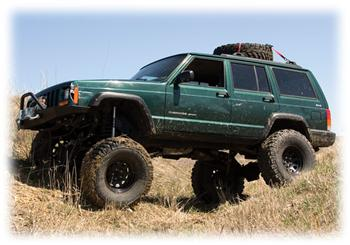 Jeep Cherokee Off Road with Lift!