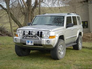 Jeep Commander Off Road!
