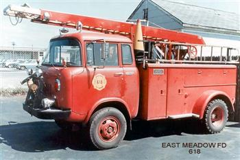 Jeep Forward Control FC-170 DRW Fire Truck!