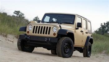 Military Jeep J8 MPV!