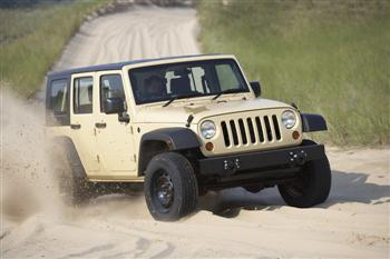 Military Jeep J8 MPV In Motion!