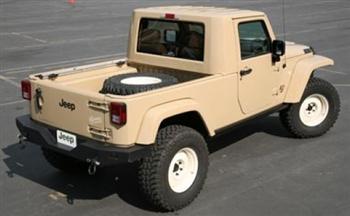JT Jeep Concept Truck  Rear!