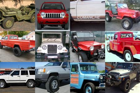 Best Used Jeeps Montage