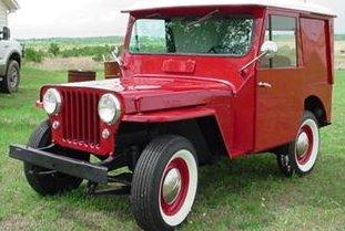 Postal Jeep 1961 DJ3A