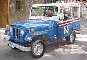 Postal Jeep DJ5