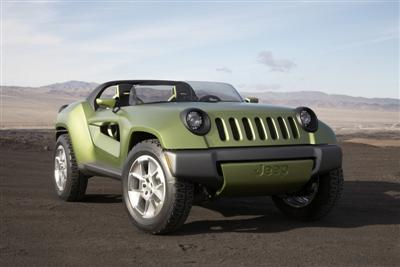 Jeep Renegade Concept 2008 Front View!