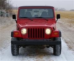 Used Jeep Red TJ