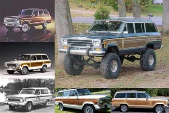Jeep Wagoneer Videos Photo Collage