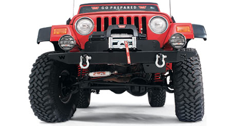 Jeeping With A Winch!