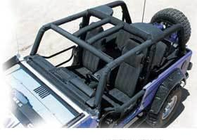 Jeep Full Custom Roll Cage!