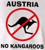 Jeep Stuff Karl's No Kangaroo Sign
