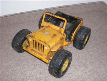 Jeep Stuff Karl's Jeep Tonka Toy