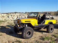 Yellow Jeep Scrambler!
