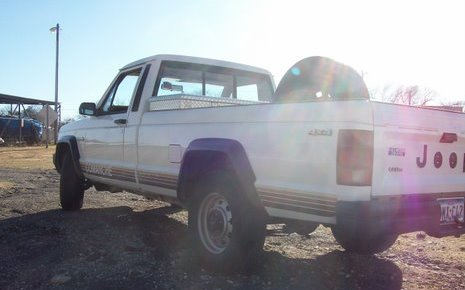 My 1987 Jeep Comanche Rear!