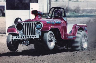 Nasty Nash CJ5 Sand Dragster in Action..courtesy of Rick