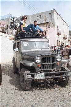 Willys Wagon in Mexico!