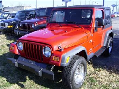 Used Jeep Car Lot!