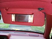 Driving Safety Tips...Visor Mirror!