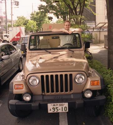 Maxim in Jeep