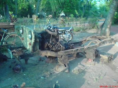 My CJ500d restoration project