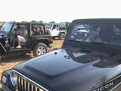 Black Betty at Jeep Club Run
