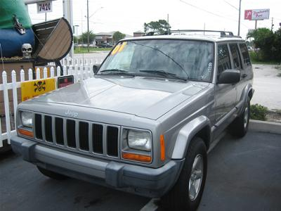 2001 Jeep Cherokee (File Photo)