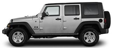 Jeep Wrangler Unlimited 4-door (File Photo)