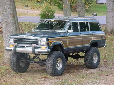 Off Road Grand Wagoneer