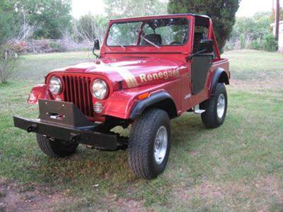 The '79  CJ5 I restored in 2008