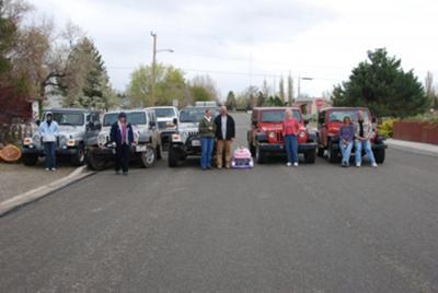 My Jeep Family