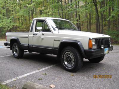 1987 Comanche.