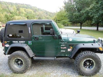 This is my TJ.   Her name is Roweena ,  I got the name from the Ratchet and Clank video Game...lol