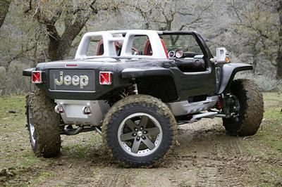 Jeep Hurricane Rear View!