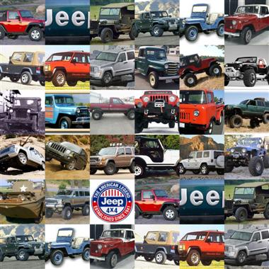 Jeeps, Jeeps and More Jeeps!