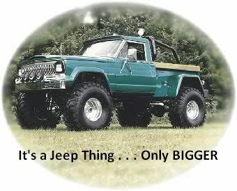 Pic of a Lifted Jeep truck from Jeeptrucks.com
