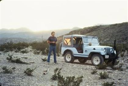 My 1953 M38A1 and Me in the Desert!