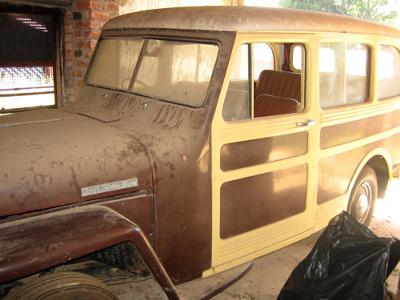 Right Hand Drive Jeep >> My 1947 2 WD Willys Overland Stationwagon - Right Hand Drive