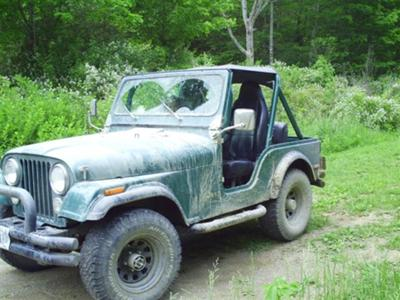 My '80 Jeep CJ5 after a Day of Fun
