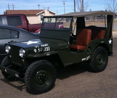 1952 CJ3A with Military Markings