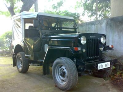 M&M CJ340 Jeep